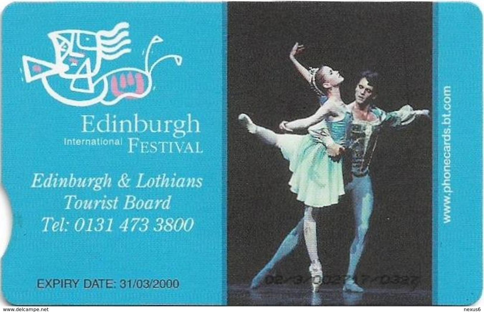 UK - BT (Chip) - BCC-143 - PRO401 - Glastonbury Festival 1998, 3£, 21.000ex, Used - Reino Unido