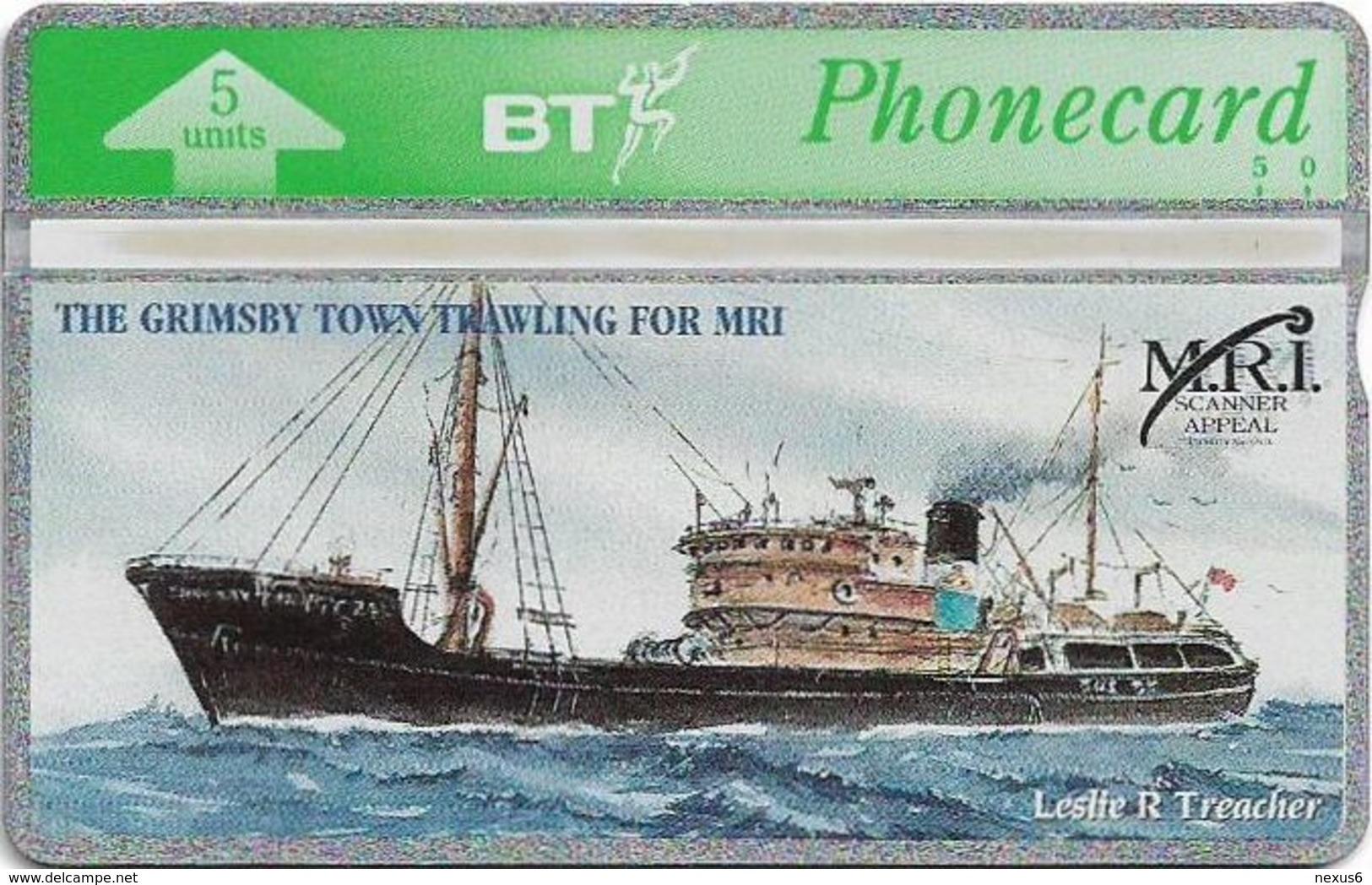 UK - BT - L&G - BTG-263 - MRI Scanner Appeal Grimsby Trawler - 403D - 5Units, 590ex, Mint - BT Edición General