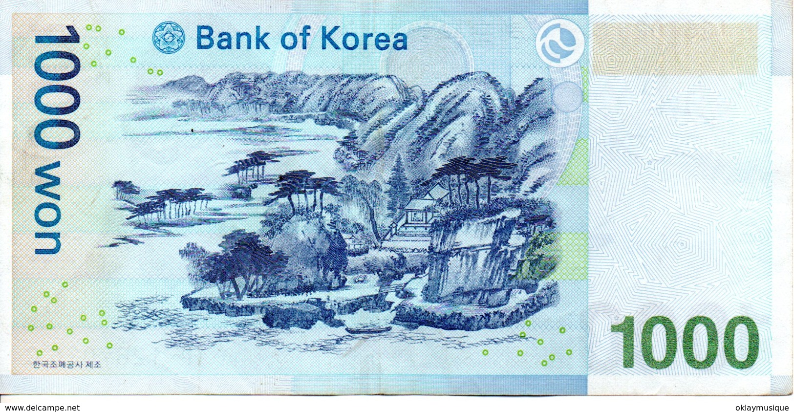 1000 Won 2000 - Korea, North