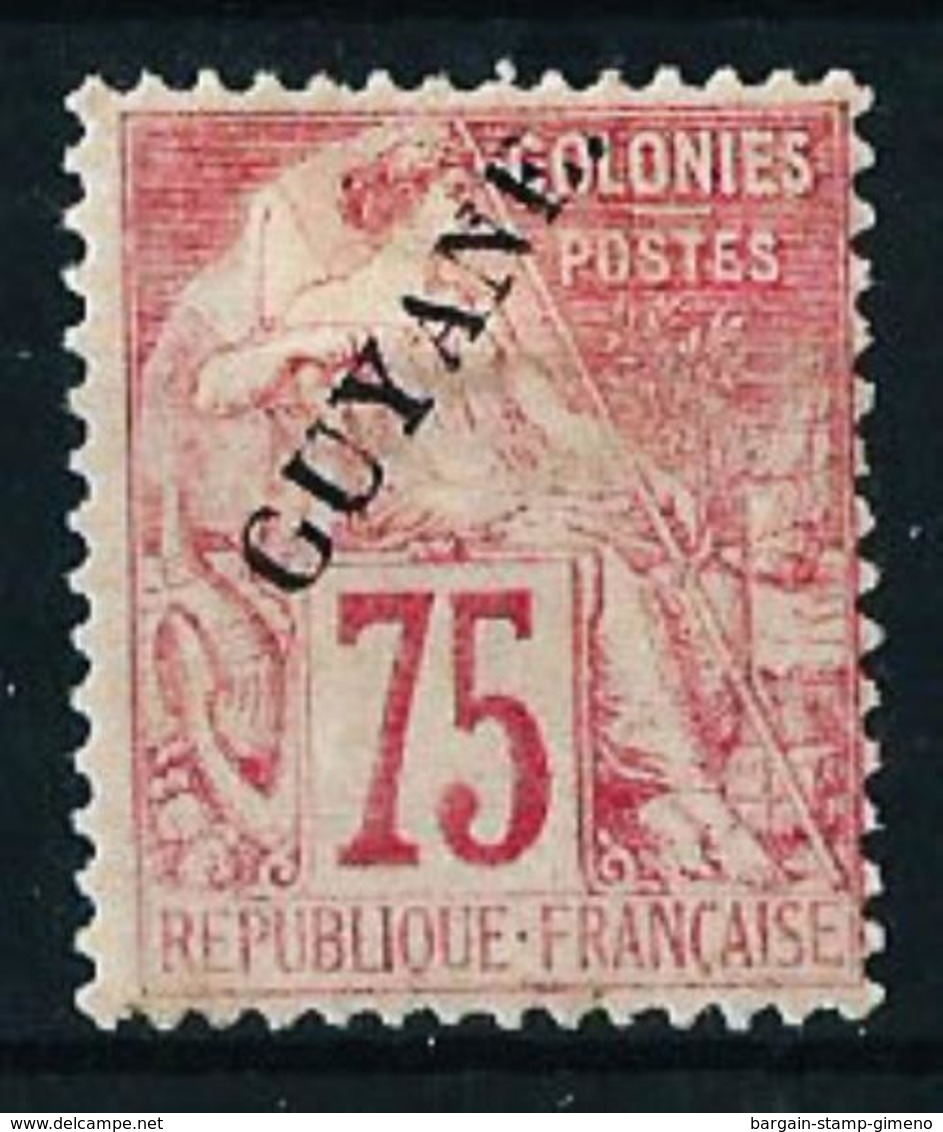Guayana (Francesa) Nº 27 Nuevo* - French Guiana (1886-1949)