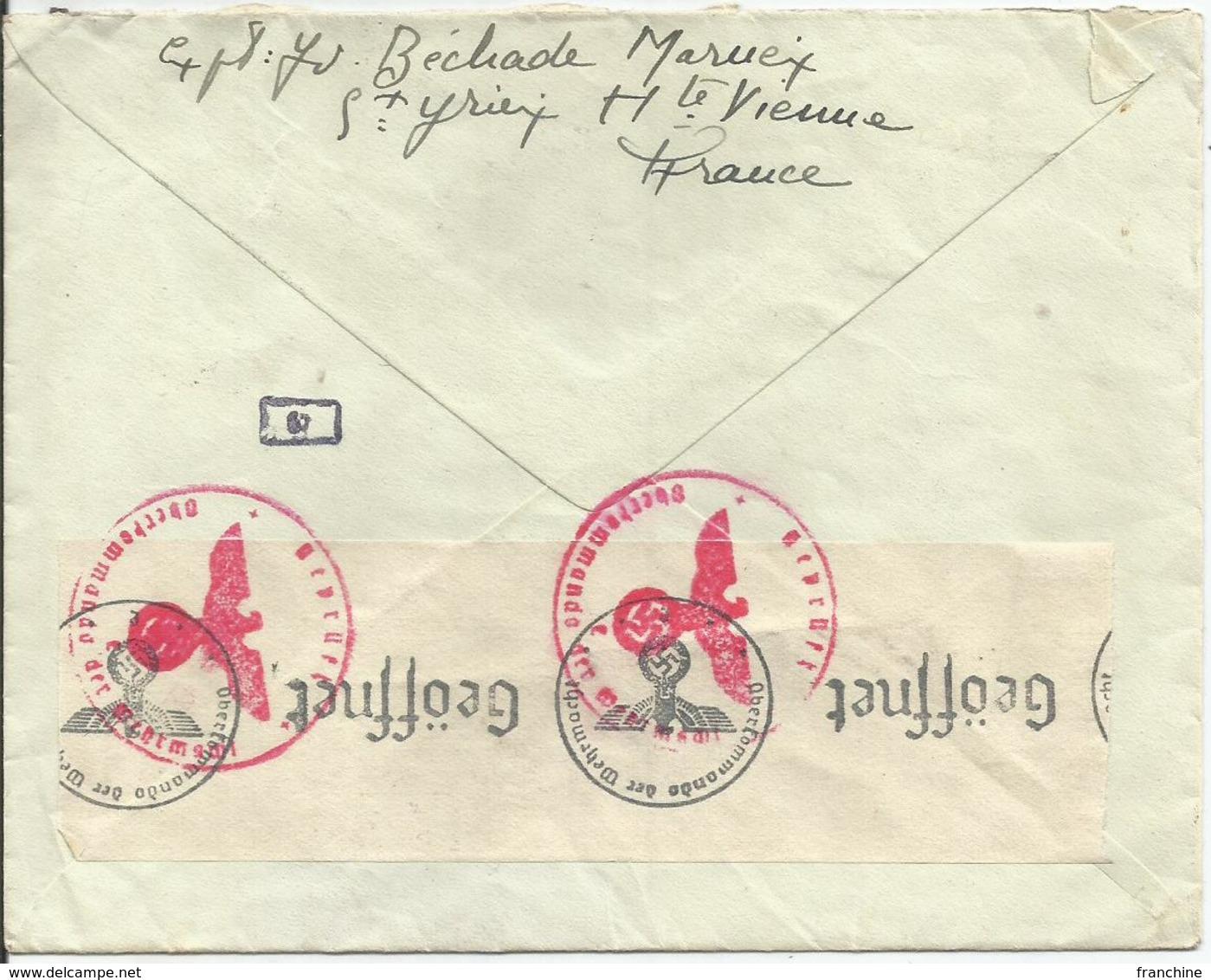1941 - N° 473 Oblitéré (o) SEUL Sur Lettre CENSUREE Vers Belgique - Briefe U. Dokumente