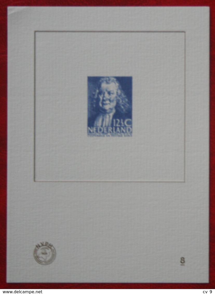 Blauwdruk No. 8  2010 Blue Print NVPH BD8 (Mi 8) Herman Boerhaave NEDERLAND / NIEDERLANDE / NETHERLANDS - Other
