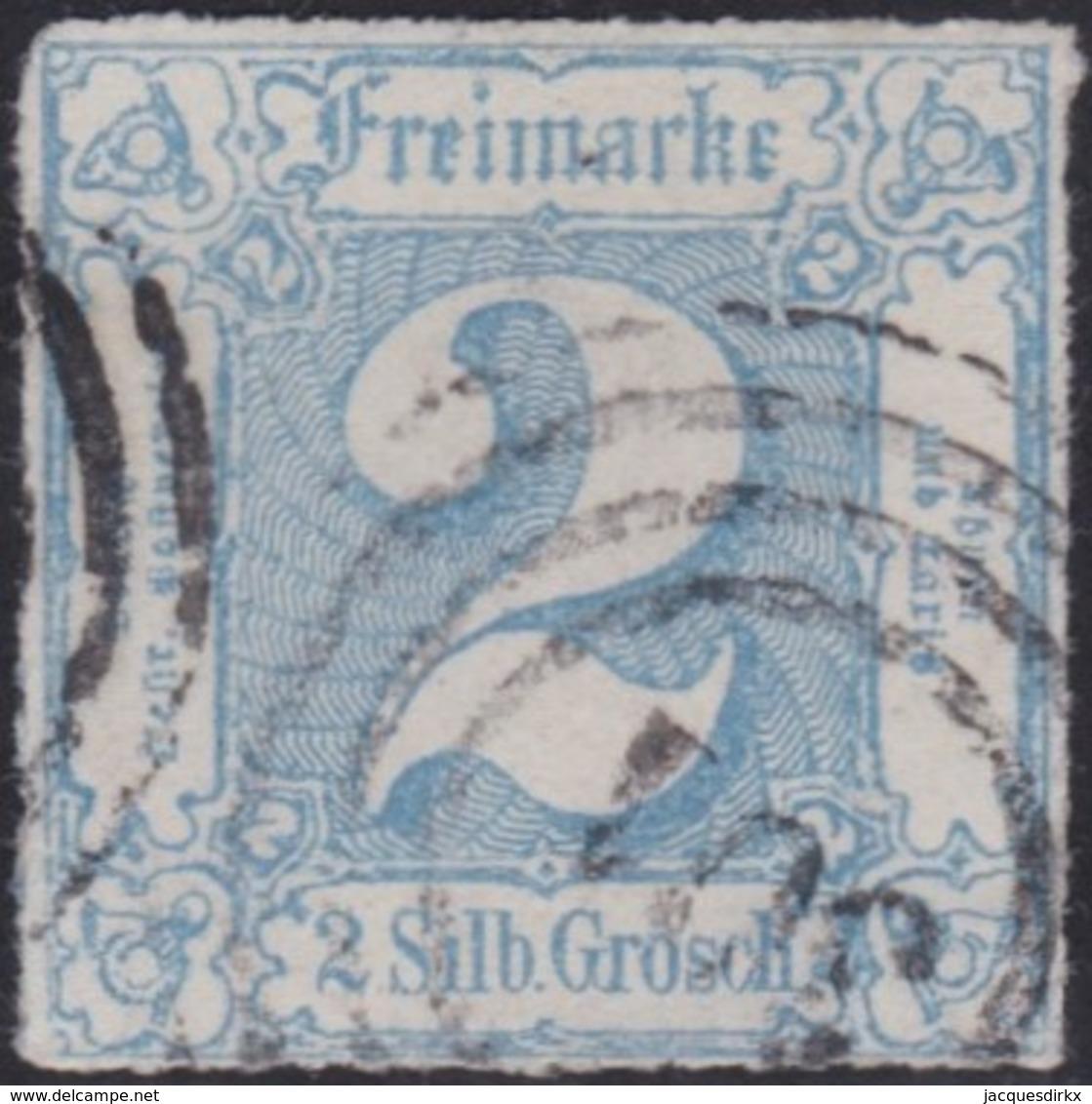 Thurn&Taxis     .    Michel   .   30  (2 Scans)    .    O      .   Gebraucht    .   /   .   Cancelled - Thurn Und Taxis