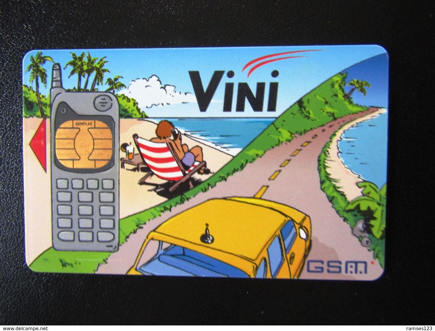 TRES RARE  PREMIERE GSM   VINI POLYNESIE       RRR  GSM NUMBER 1 POLYNESIE   RRR   TOP CONDITION - French Polynesia