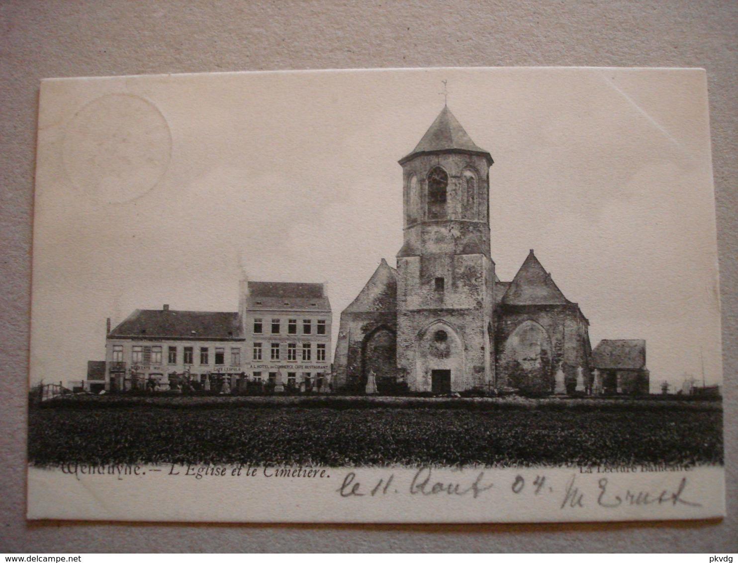 Wenduine. L'Eglise Et Le Cimetière. - Wenduine