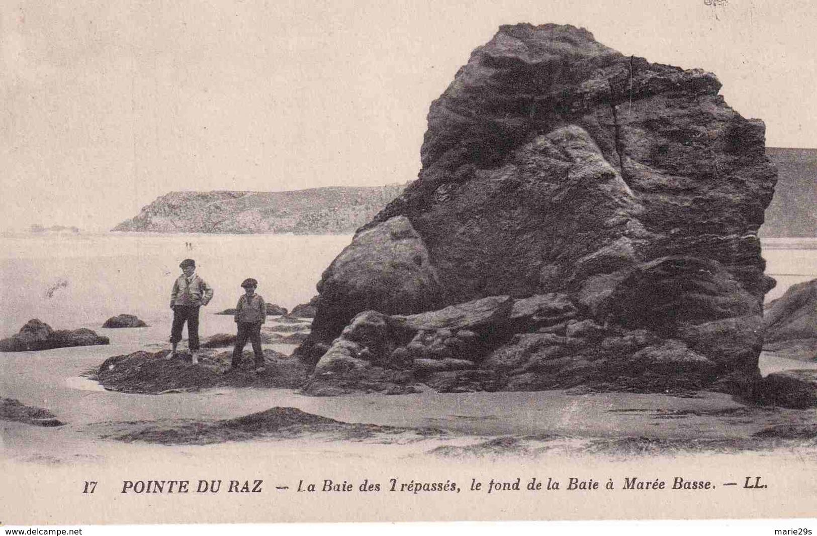 29 CLEDEN-CAP-SIZUN La Baie Des Trépassés, Le Fond De La Baie à Marée Basse - Animée - Cléden-Cap-Sizun