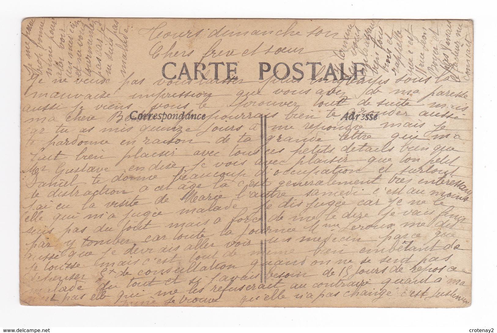 37 Tours ? VOIR ZOOM Et DOS Carte Photo Fillette Avec Son Nounours Carte écrite à Tours ? - Photographs