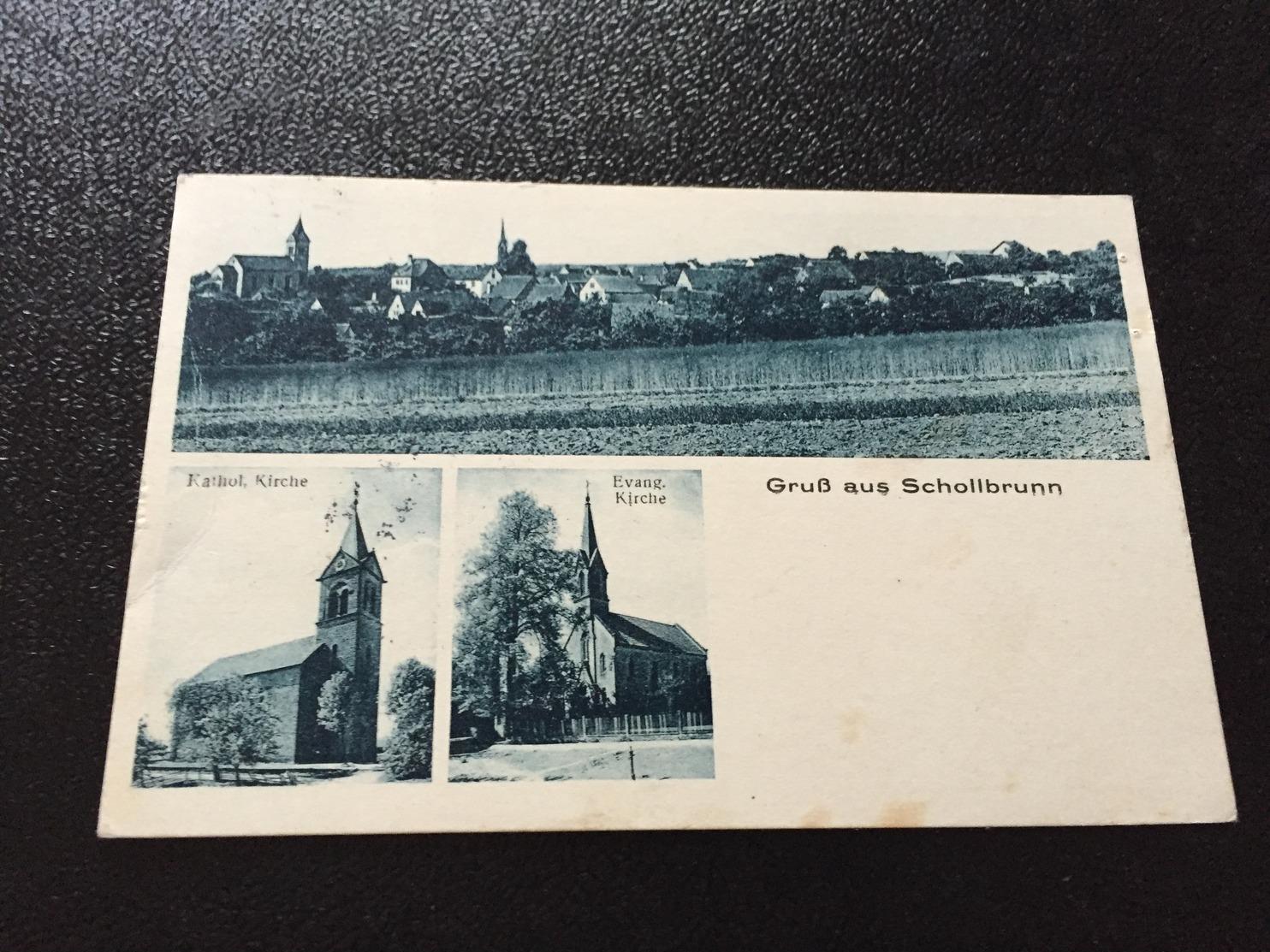 Gruß Aus SCHOLLBRUNN 1931 - Deutschland