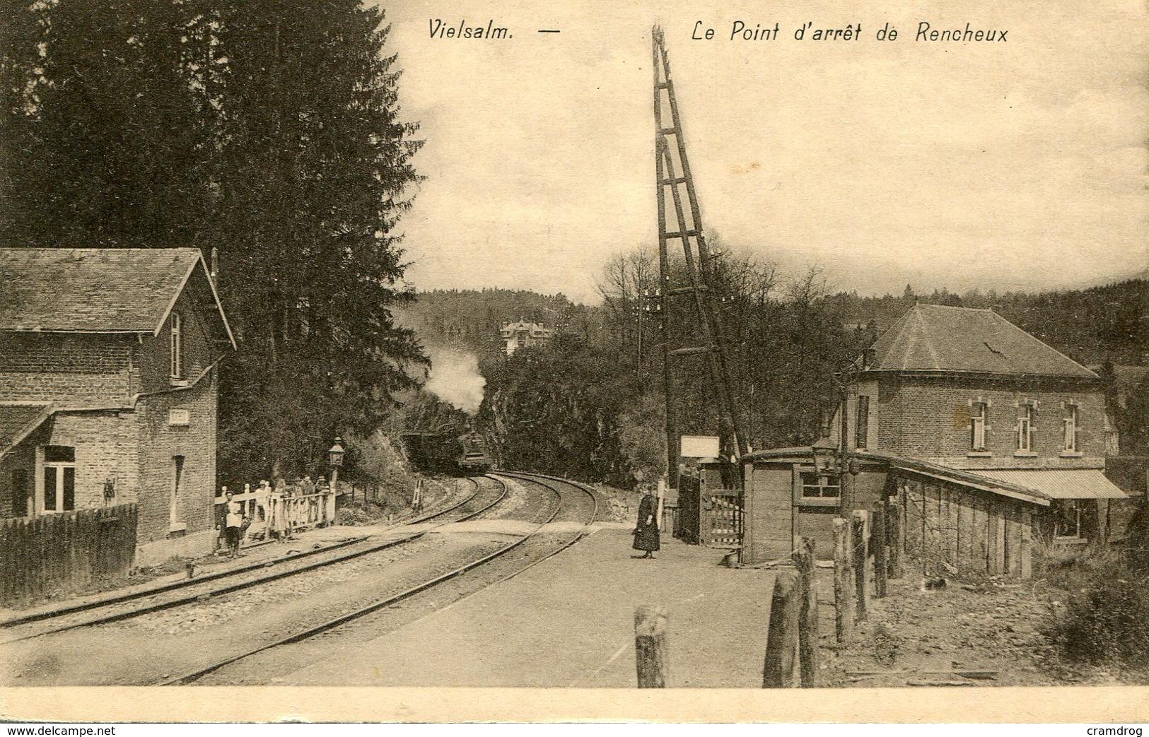 Vielsalm Le Point D'arrêt De Rencheux - Vielsalm