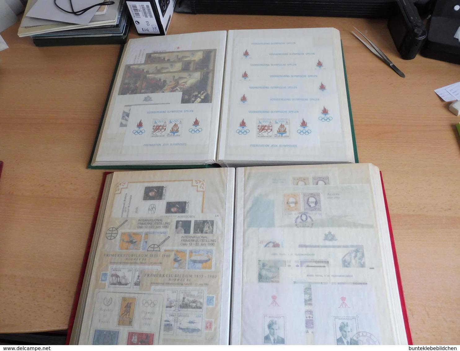 1000 Blöcke Und KLB, **/o, Europaweit, Nicht Alles Abgebildet. - Stamps