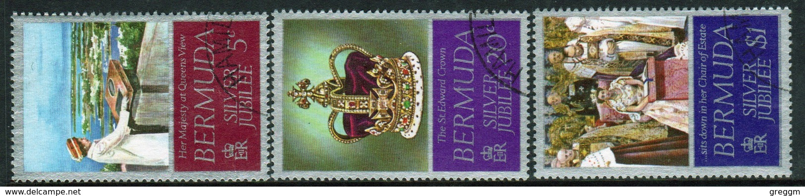 Bermuda Elizabeth II 1977 Set Of Stamps To Celebrate The Silver Jubilee. - Bermuda