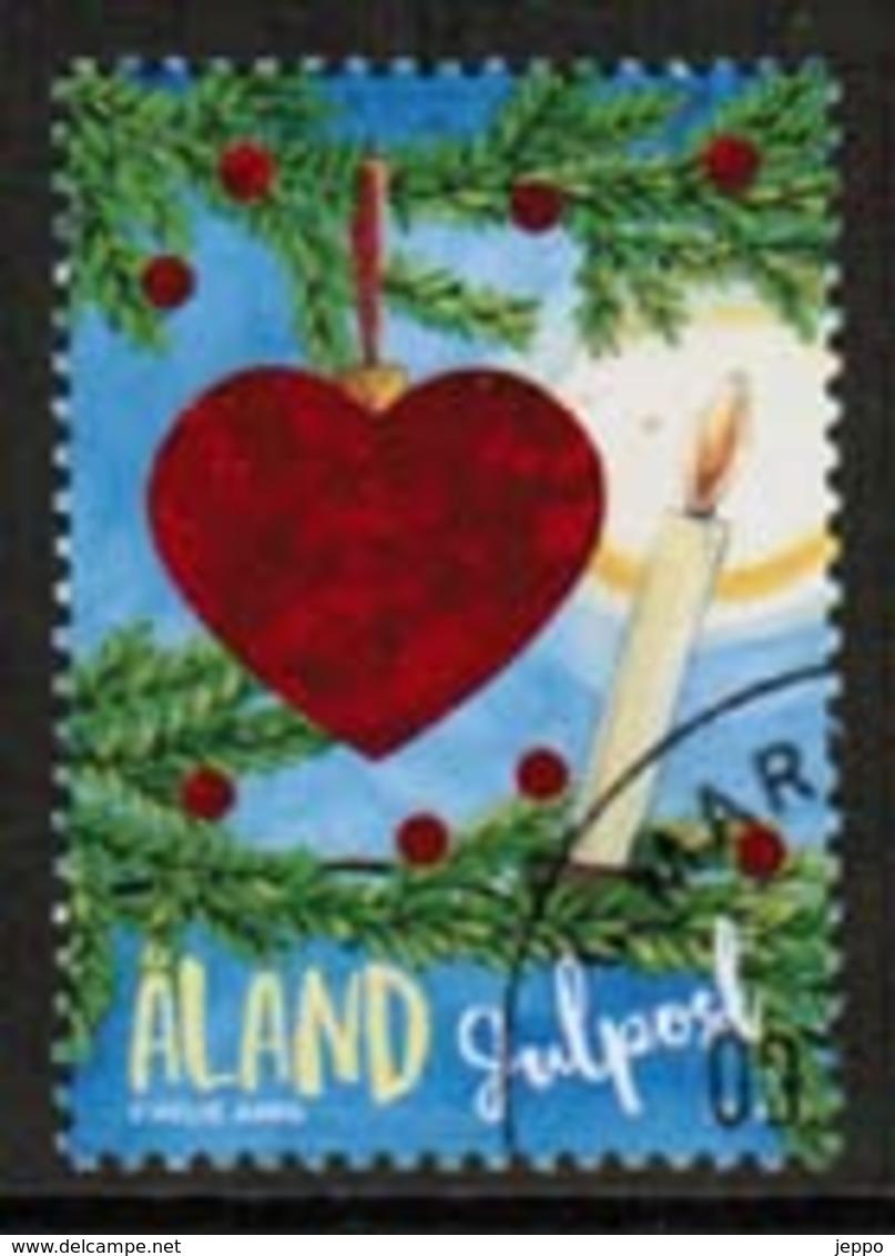 2018 Aland Islands, Christmas Used. - Aland