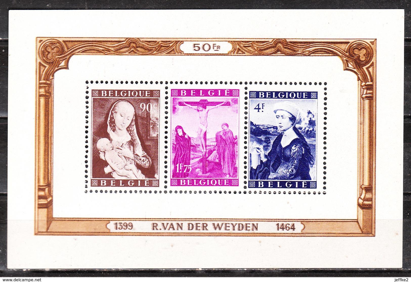 BL28**  Rogier Van Der Weyden - MNH** - COB 190 - Vendu à 13% Du COB!!!! - Blocs 1924-1960
