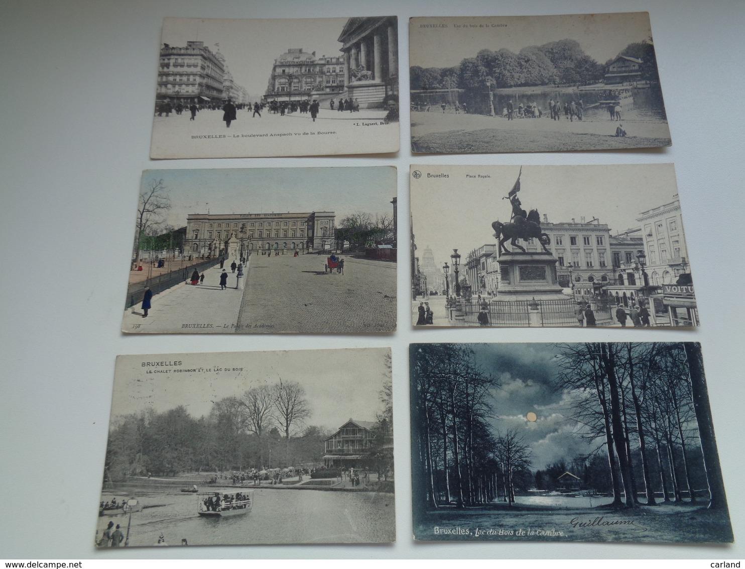 Beau Lot De 60 Cartes Postales De Belgique  Bruxelles      Mooi Lot Van 60 Postkaarten Van België  Brussel - 60 Scans - 5 - 99 Cartes