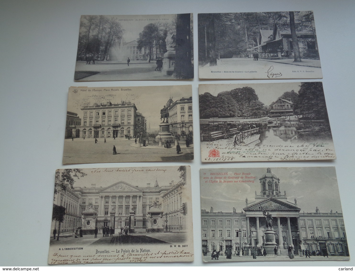 Beau Lot De 60 Cartes Postales De Belgique  Bruxelles      Mooi Lot Van 60 Postkaarten Van België  Brussel - 60 Scans - Cartes Postales