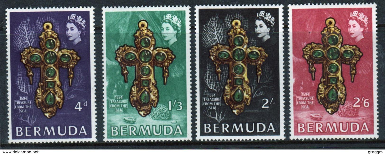 Bermuda Elizabeth II 1969 Set Of Stamps To Celebrate Underwater Treasure. - Bermuda