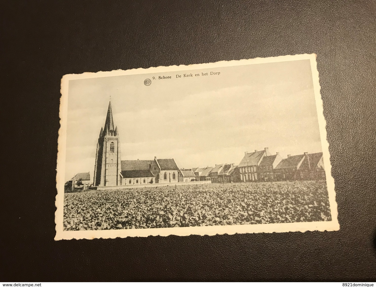 Schore (Middelkerke ) - De Kerk En Het Dorp - Ed. Ponilux - Middelkerke