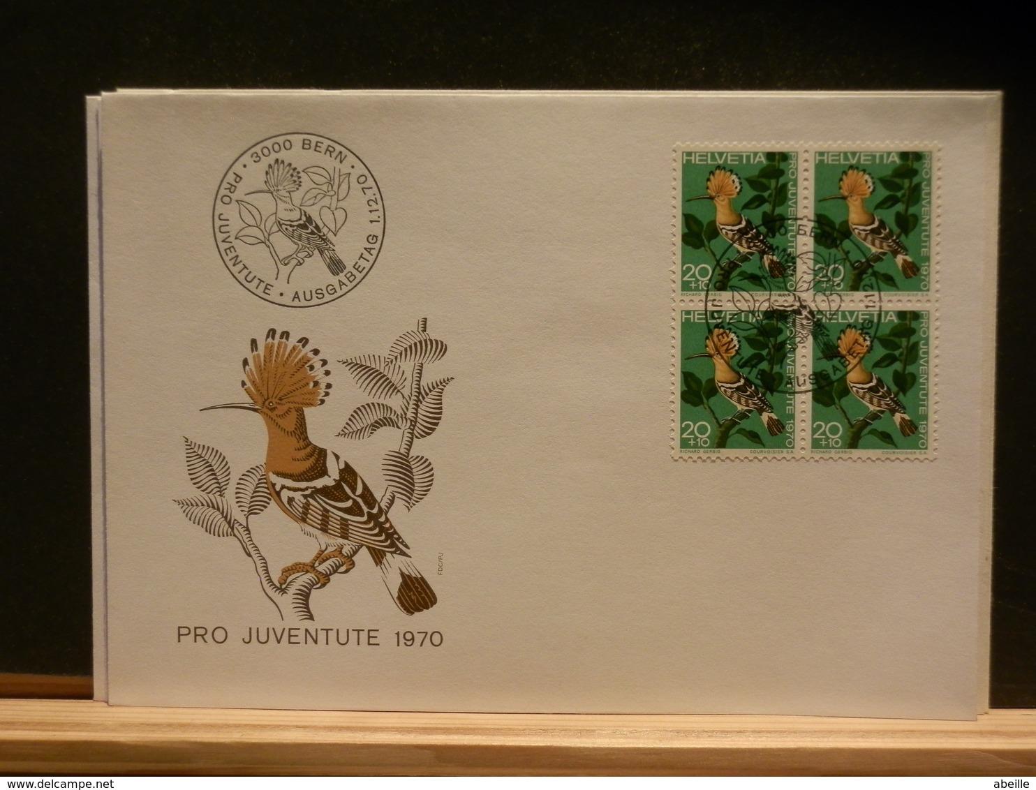 85/009  PRO JUVENTUTE 1970 - FDC