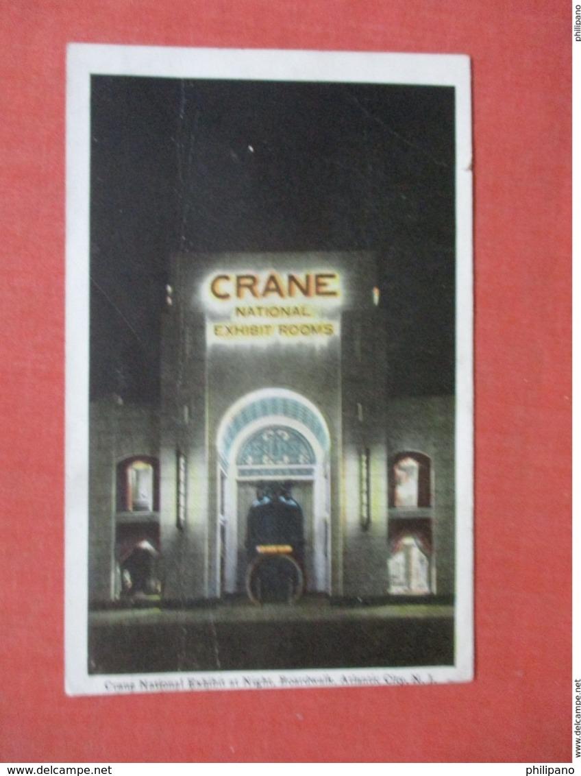 Crane National Exhibit At Night         New Jersey > Atlantic City    Ref 3779 - Atlantic City