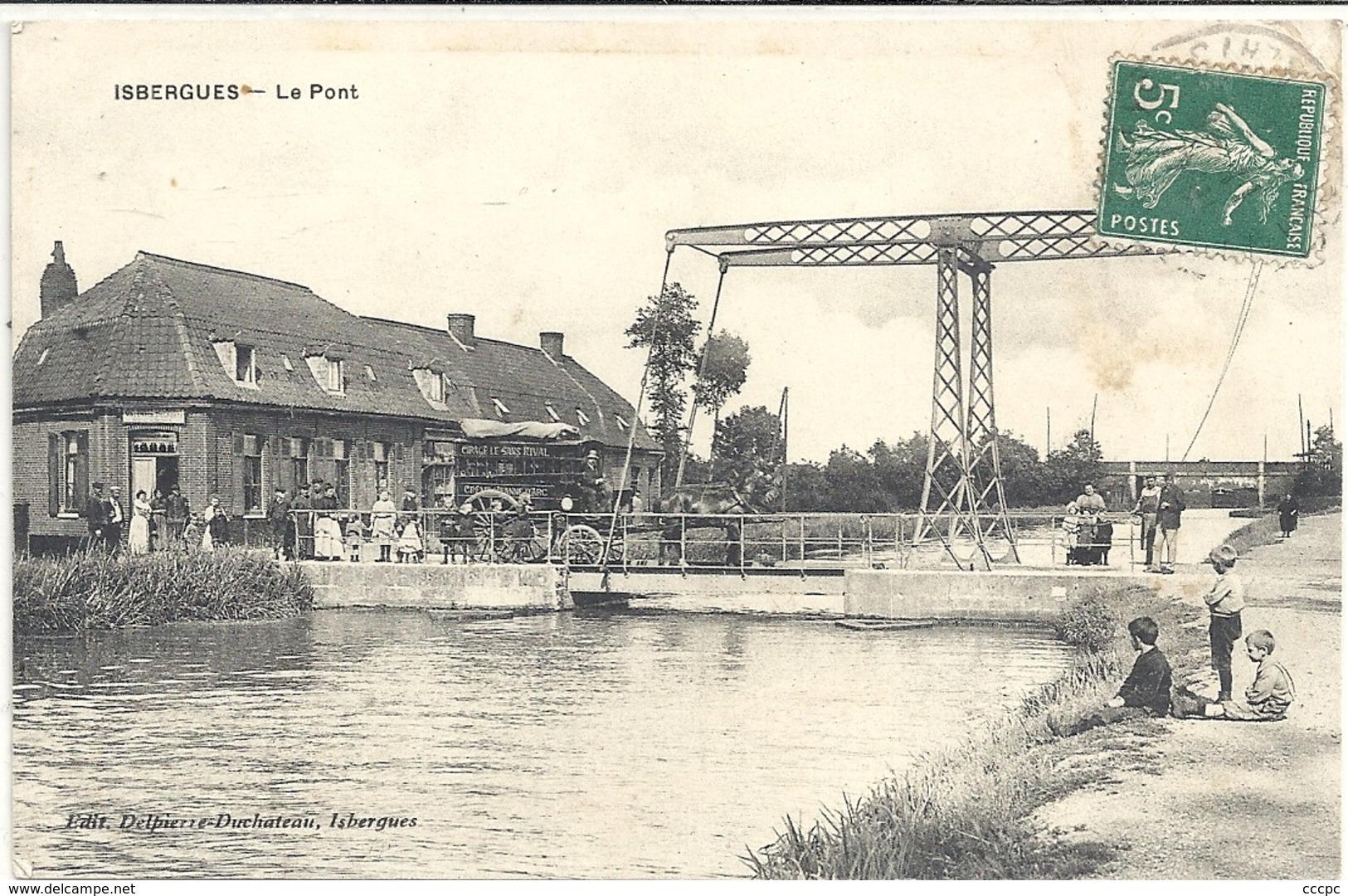 CPA Isbergues Le Pont - Francia
