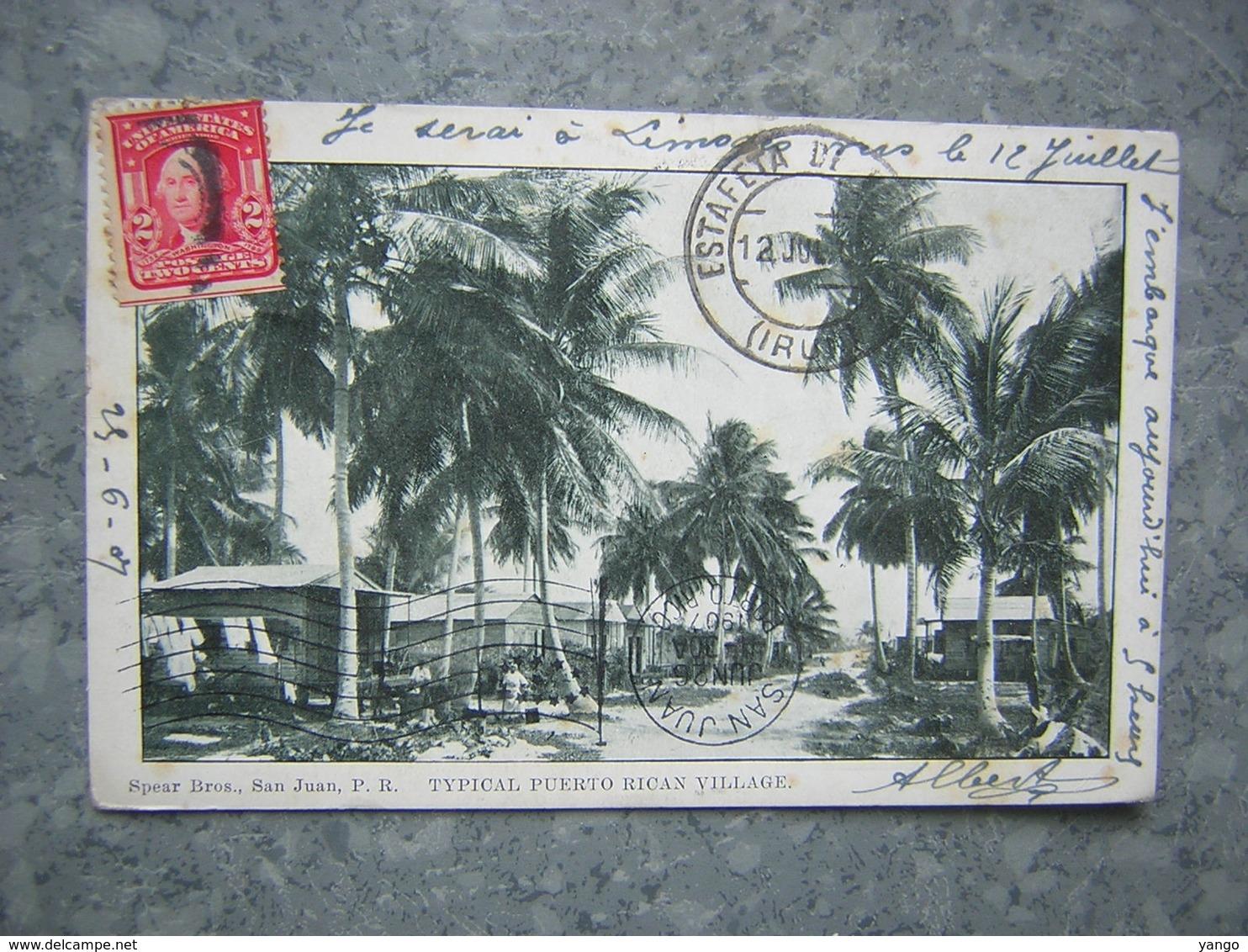 PUERTO RICO - SAN JUAN - TYPICAL PUERTO RICAN VILLAGE - Puerto Rico