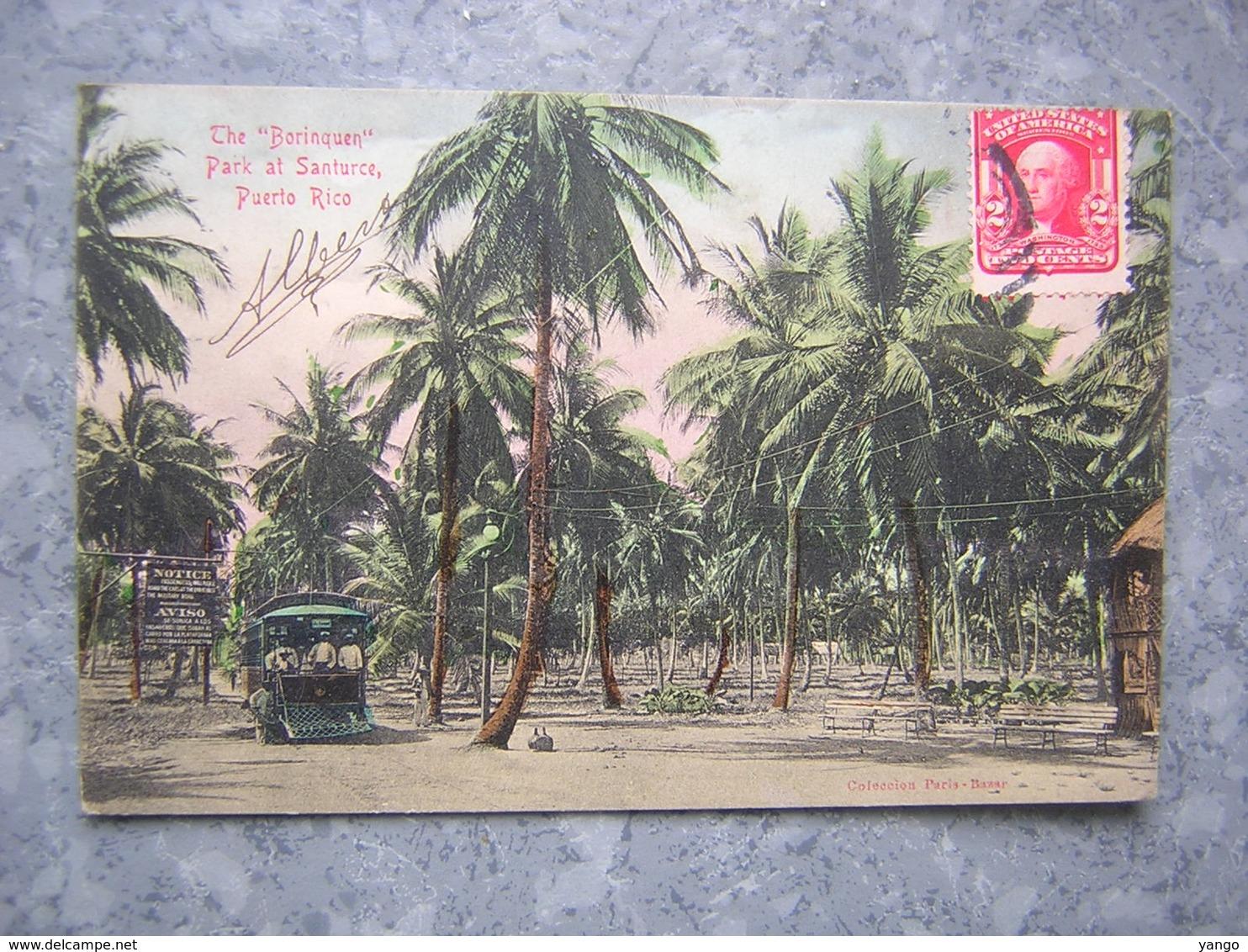 PUERTO RICO - THE BORINQUEN - PARC AT SANTURCE - Puerto Rico