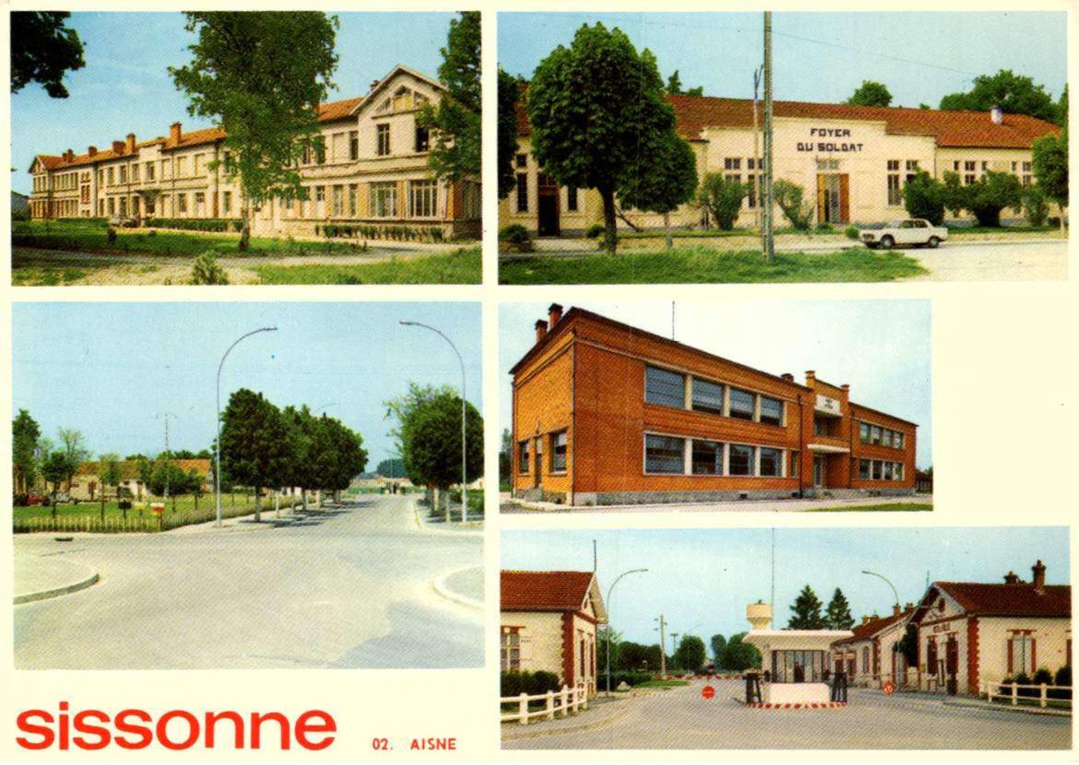 Militaria > Casernes / SISSONNE >/    LOT 3018 - Casernes