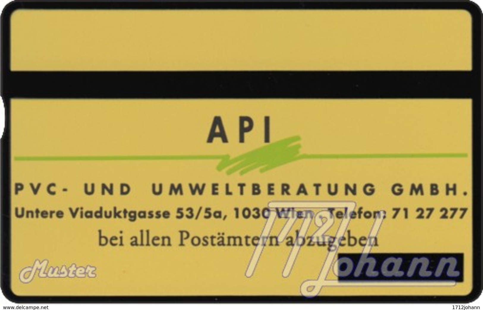 """TWK Österreich Privat: """"API 2"""" Gebr. - Austria"""