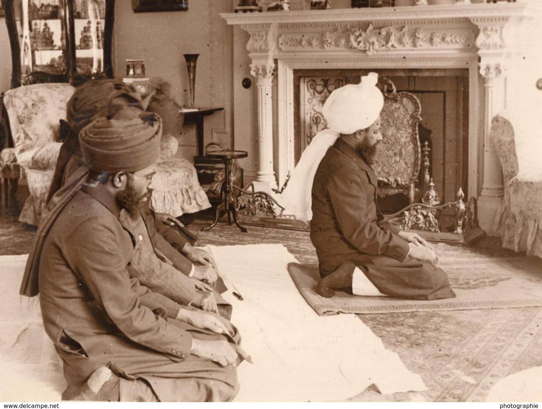 Londres Khalifatul Masih Islam Priere A Chesham Place Ancienne Photo 1924 - Foto's
