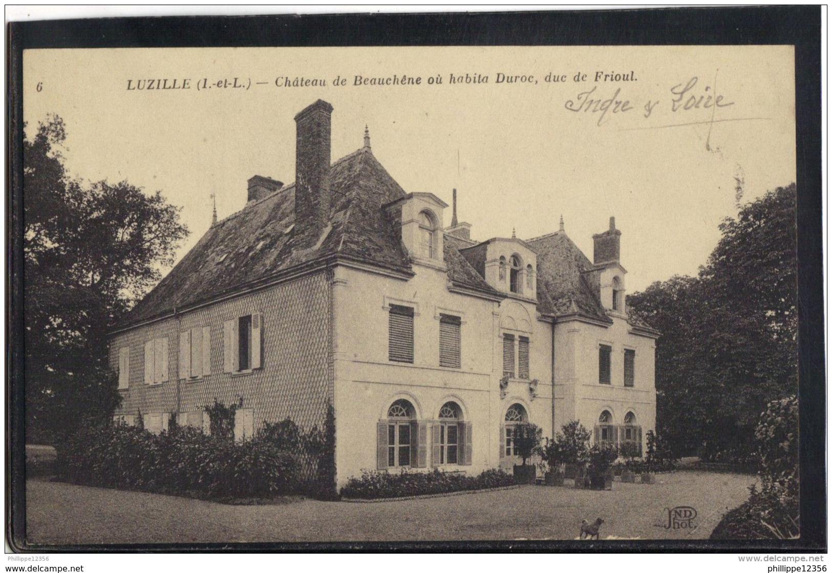 37276 . LUZILLE . CHATEAU DE BEAUCHENE . - France
