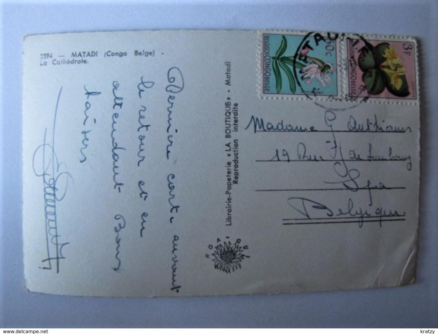 CONGO BELGE - MATADI - La Cathédrale - Congo Belge - Autres