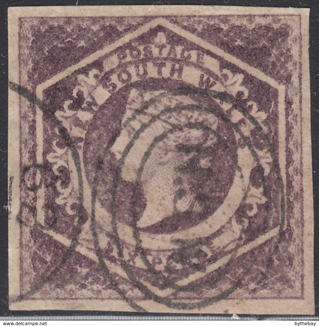 New South Wales 1854-55 Used Sc 29 6p Queen Victoria - 1850-1906 New South Wales