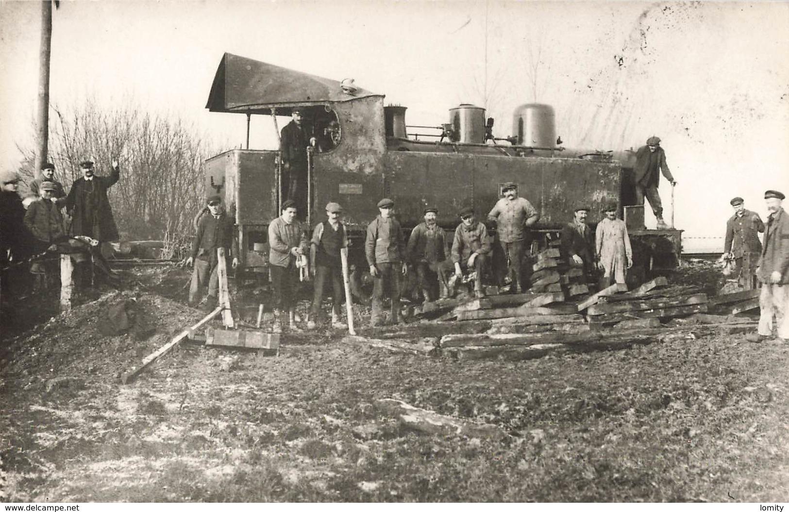 Train Catastrophe Déraillement Locomotive 040 N°12 Photo Ou Retirage ? - Trains