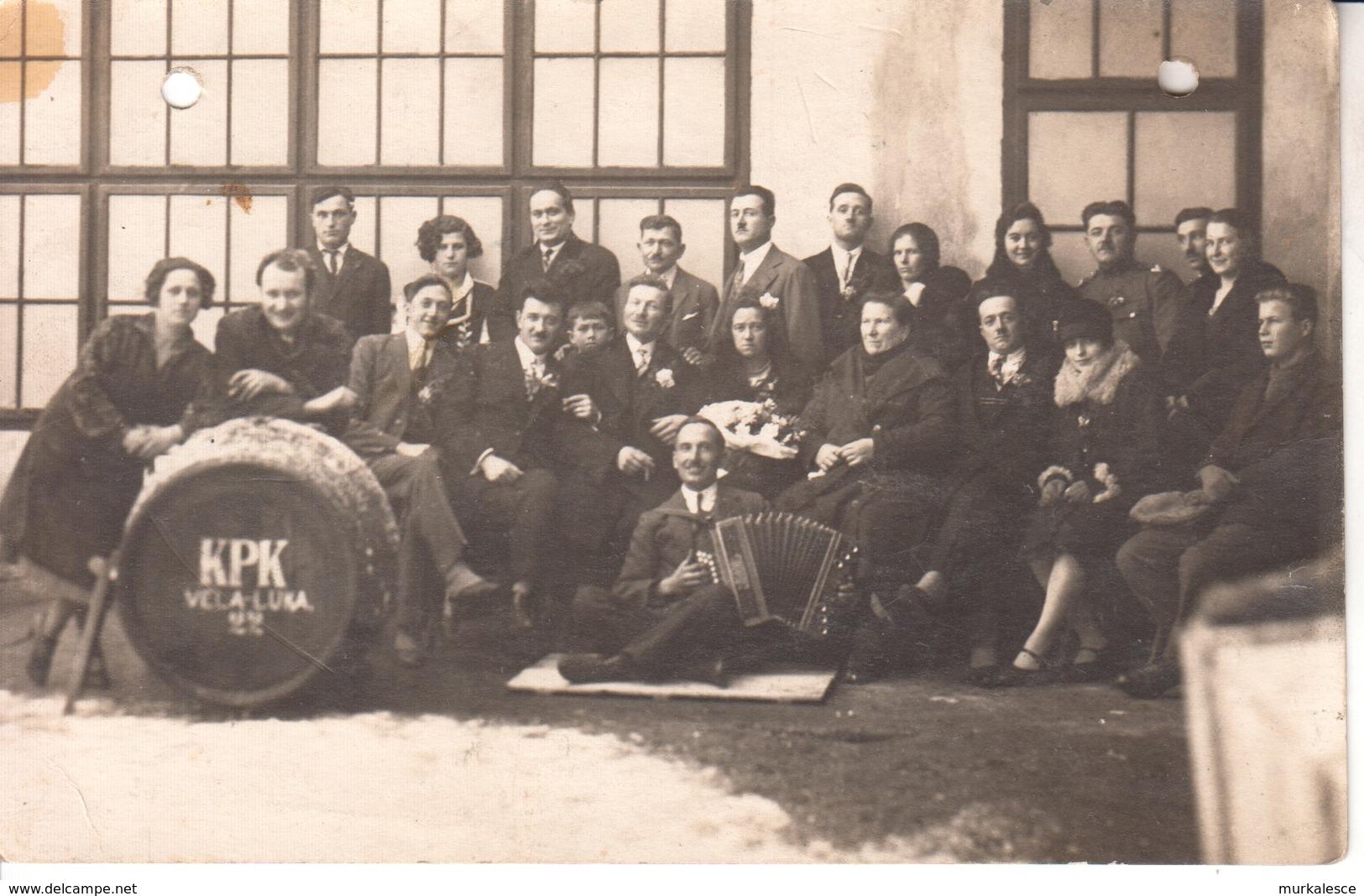 4964   Ak-- KORCULANSKI  PLIVACKI  KLUB  VELA LUKA - Croazia