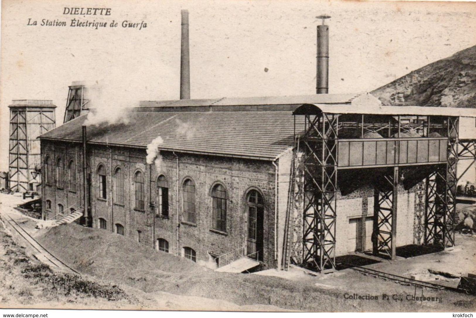 Diélette Flamanville - Station électrique De Guerfa - Collection FC Cherbourg - France