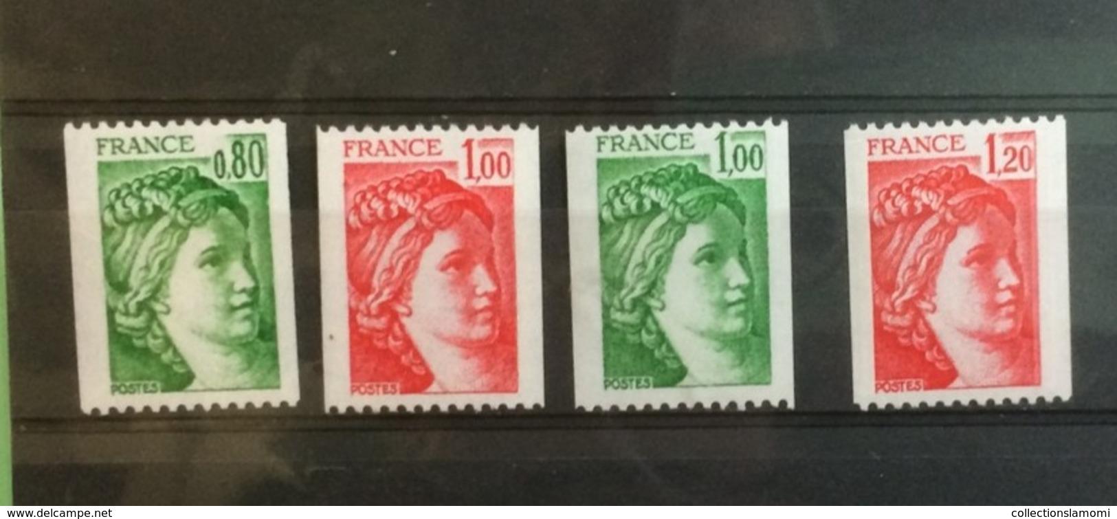 France (Lot Type Sabine) 1977-78 - Neuf (Y&T N°1962 à 1981B)(22 Val) - Coté 16,80€ - France