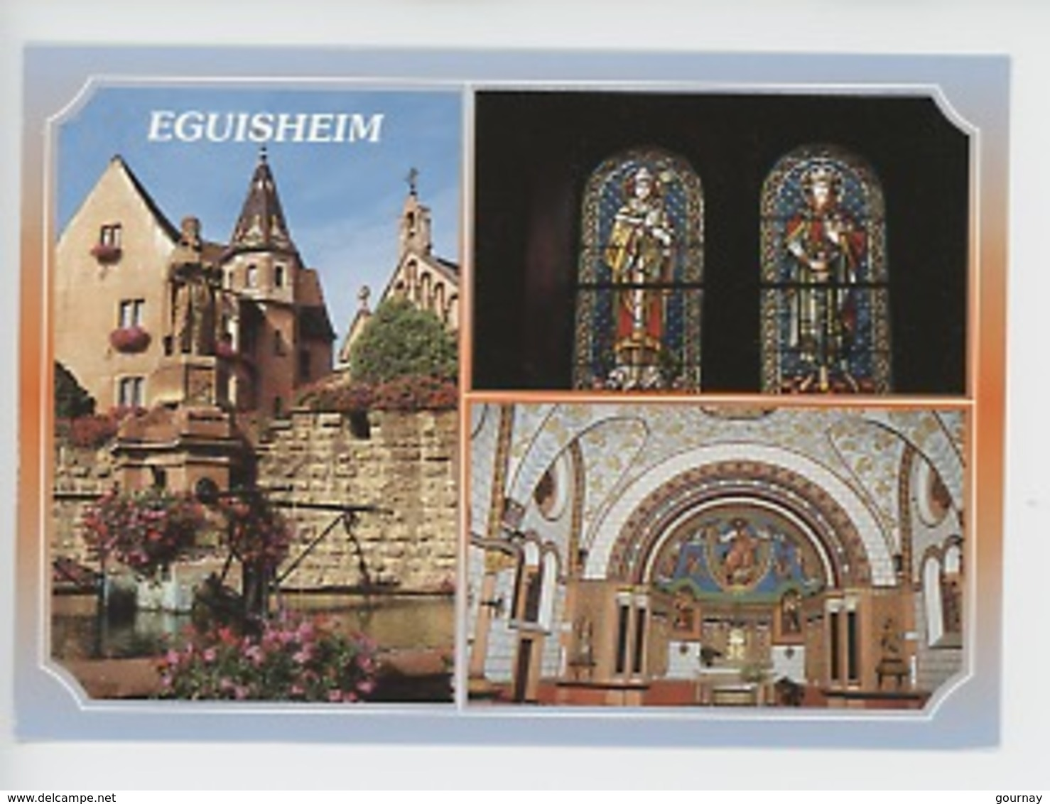 Eguisheim : Chapelle Saint Léon (multivues) - Frankrijk