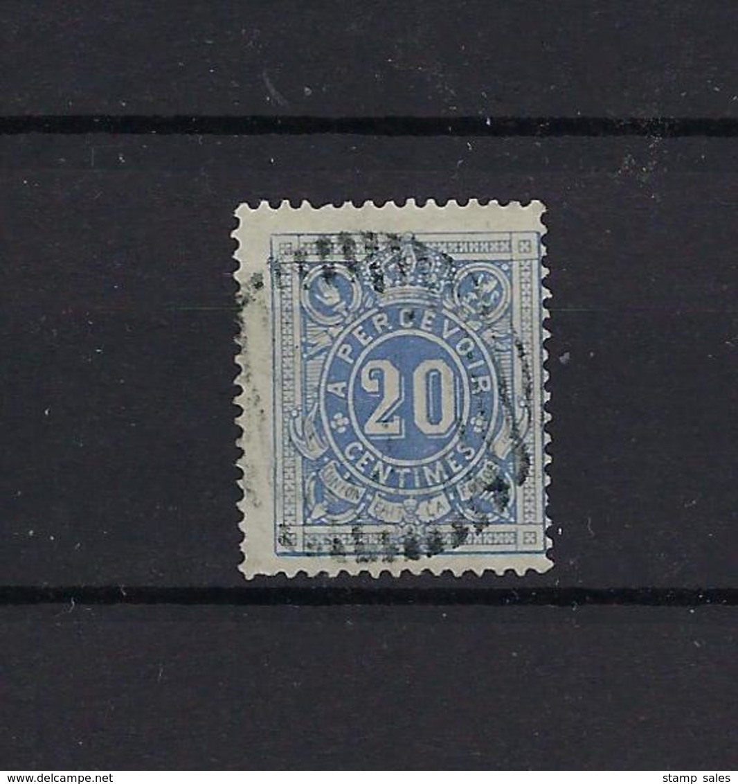 N°TX2 GESTEMPELD MET Stomme Stempel SUPERBE - Timbres