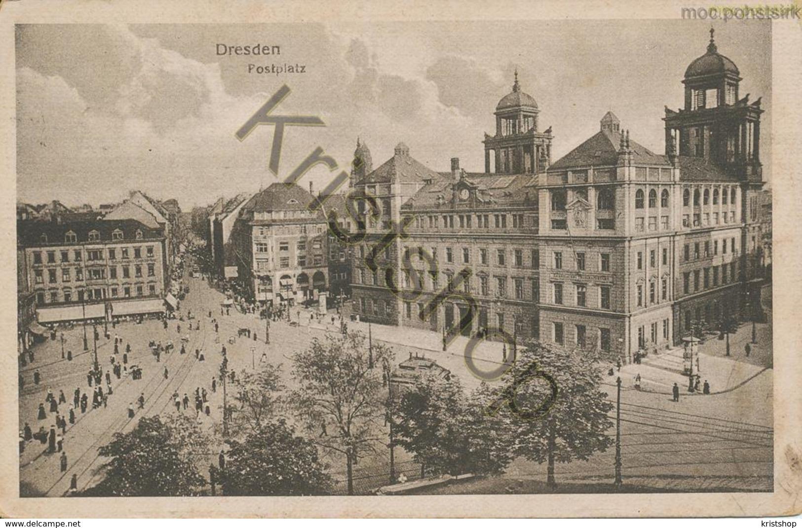 Dresden - Postplatz [5Z-031 - Unclassified