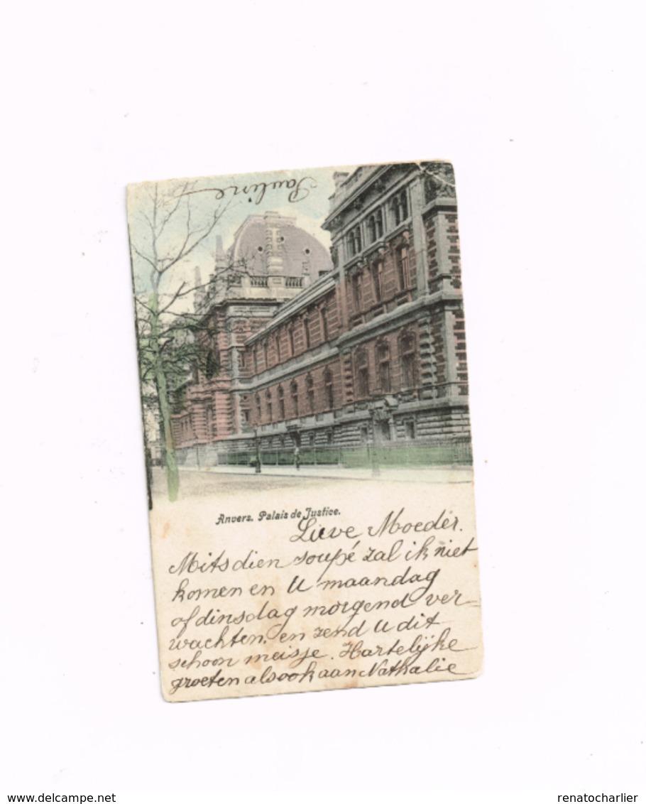 Palais De Justice.Expédié De Anvers à Anvers - Antwerpen