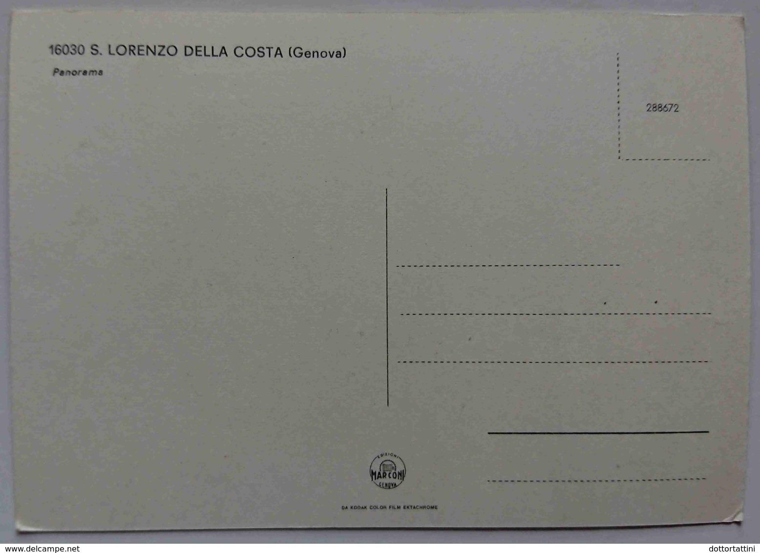 SAN LORENZO DELLA COSTA - Panorama - Nv L2 - Genova