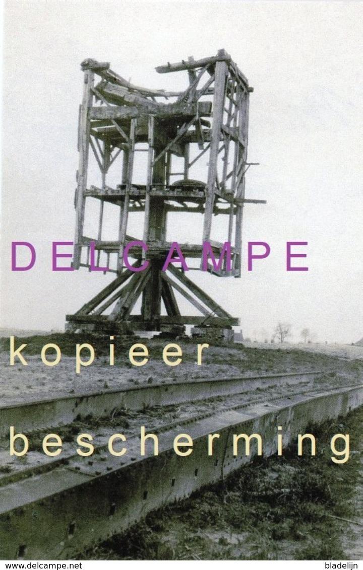 OOSTVLETEREN - Vleteren (W.-Vl.) - Molen/moulin - De Uitgebrande Restanten Van Molen Decroos In 1915 (verdwenen) - Vleteren