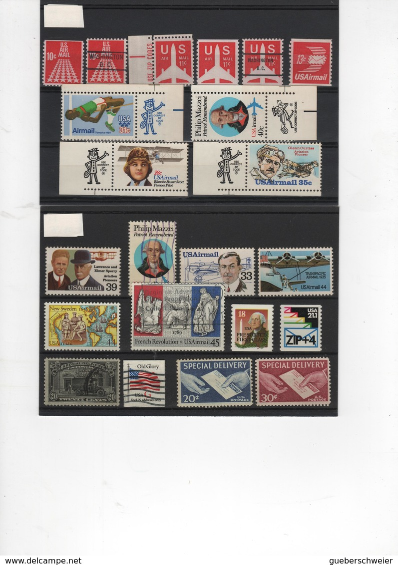 USA 1 - ETATS UNIS Petite Collection Neufs**/* Et Oblitérés Belle Côte - Collections