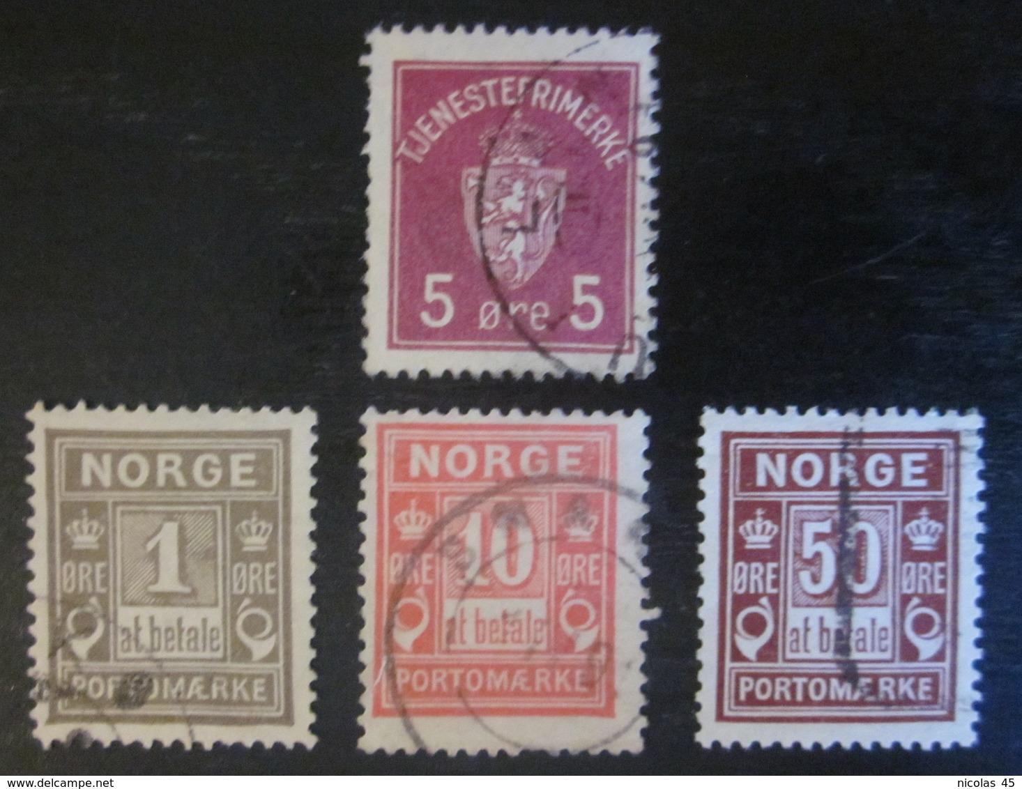 Norvège - YT S1 T1 T3 T6 - Service