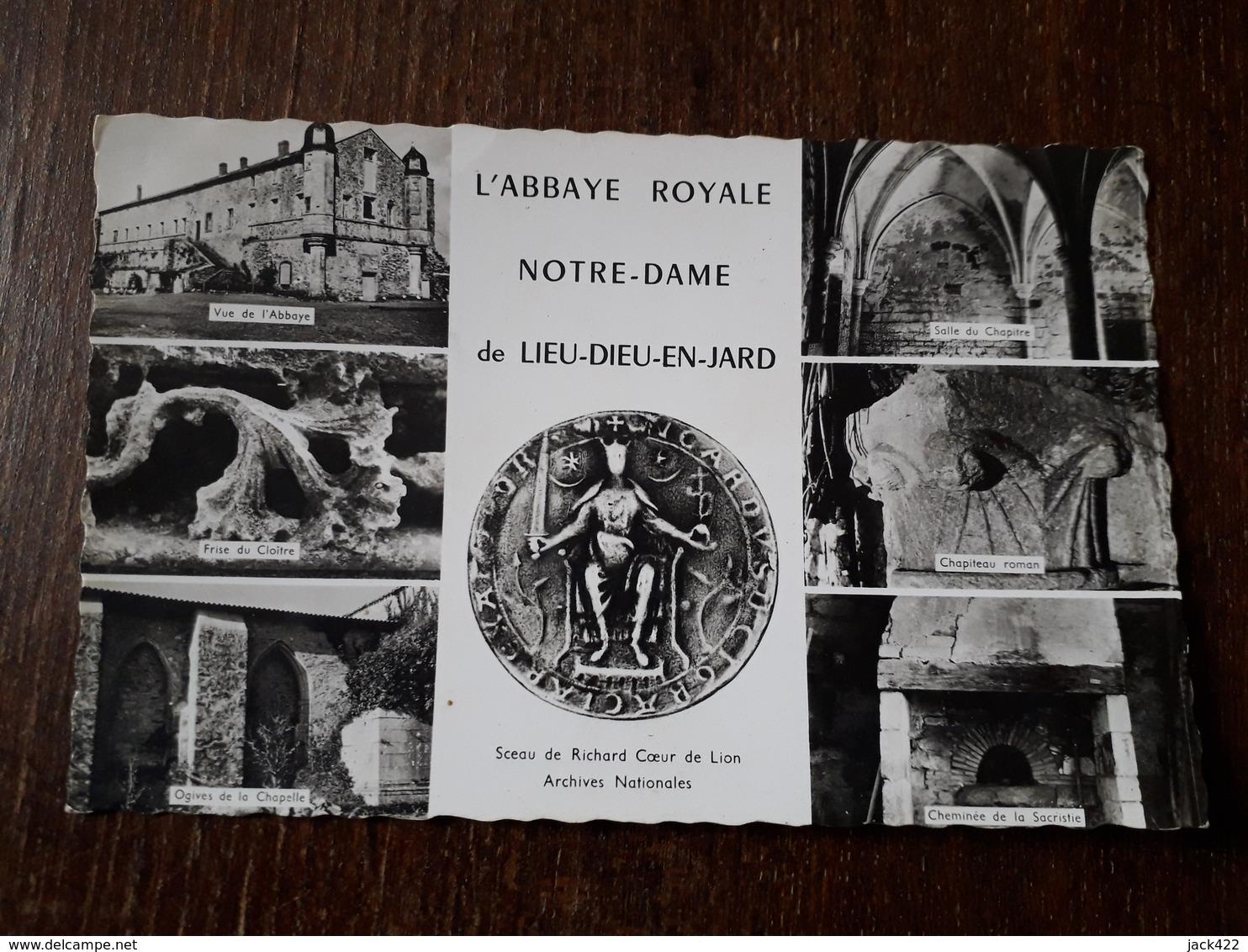 L26/132 Jard Sur Mer - Abbaye Royale Notre Dame De Lieu Dieu - France