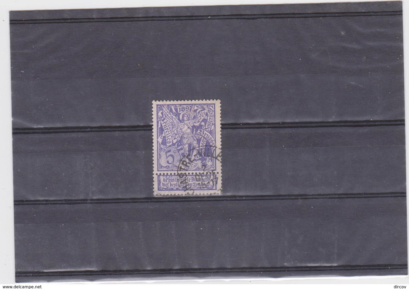 Belgie Nr 71 Chastre-Villeroux - 1894-1896 Tentoonstellingen