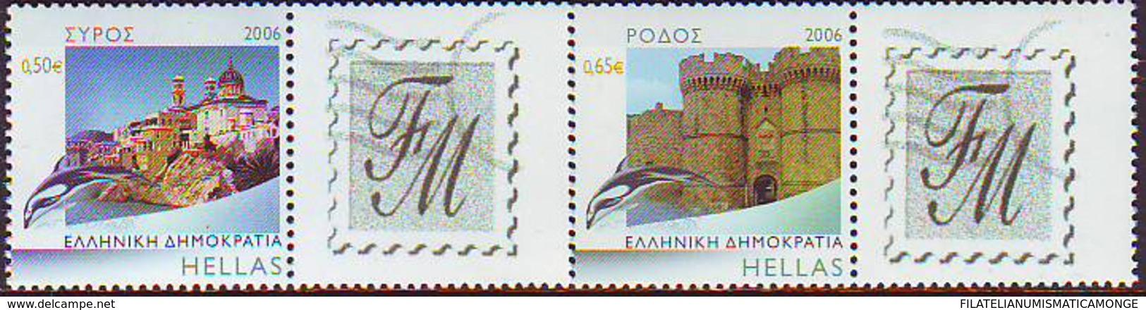 Grecia 2006 Correo 2350/51 Syros Y Rodas Personalizados (2s)  **/MNH - Greece