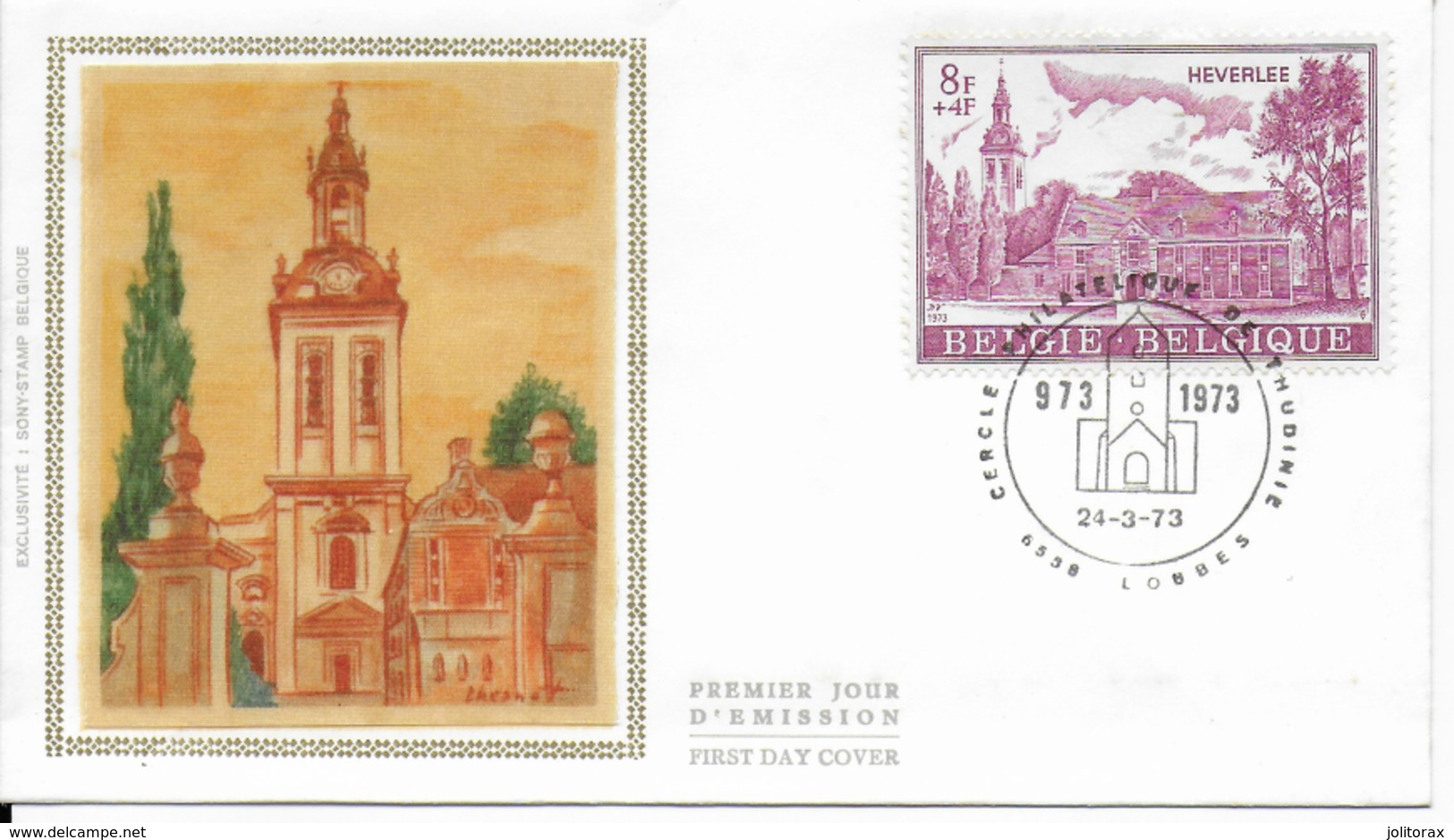 Enveloppe FDC 1973  Jaunie Au Verso - 1971-80