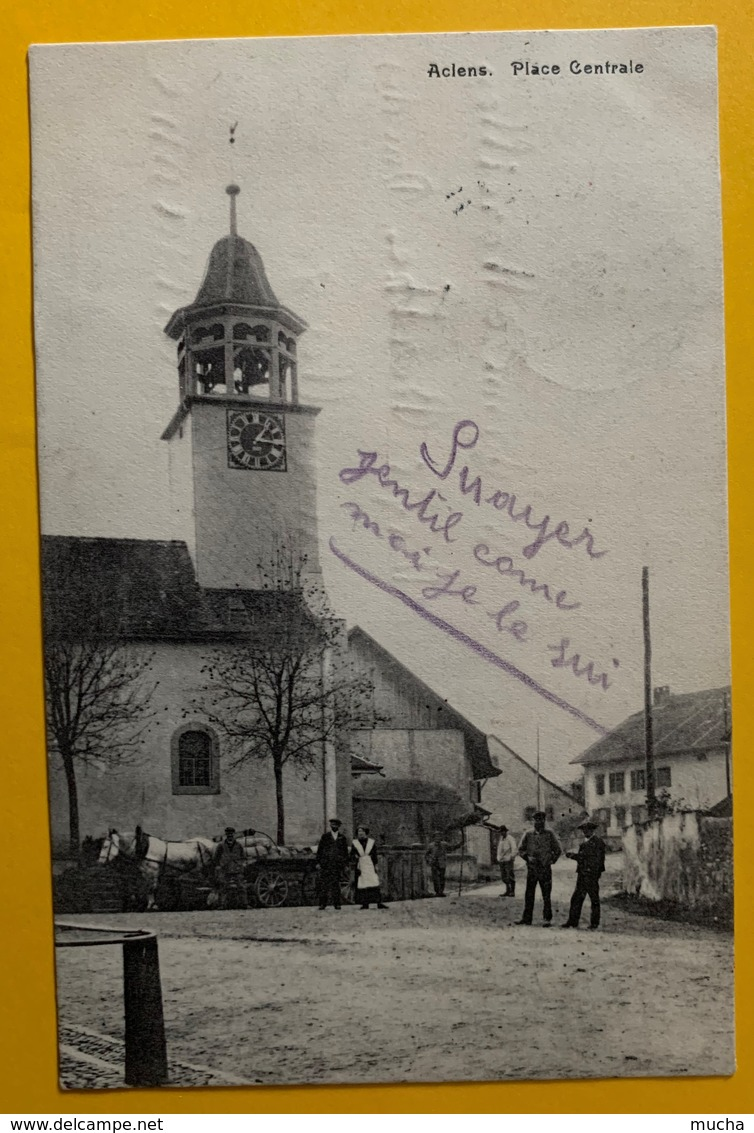 9874 - Aclens Place Centrale - VD Vaud