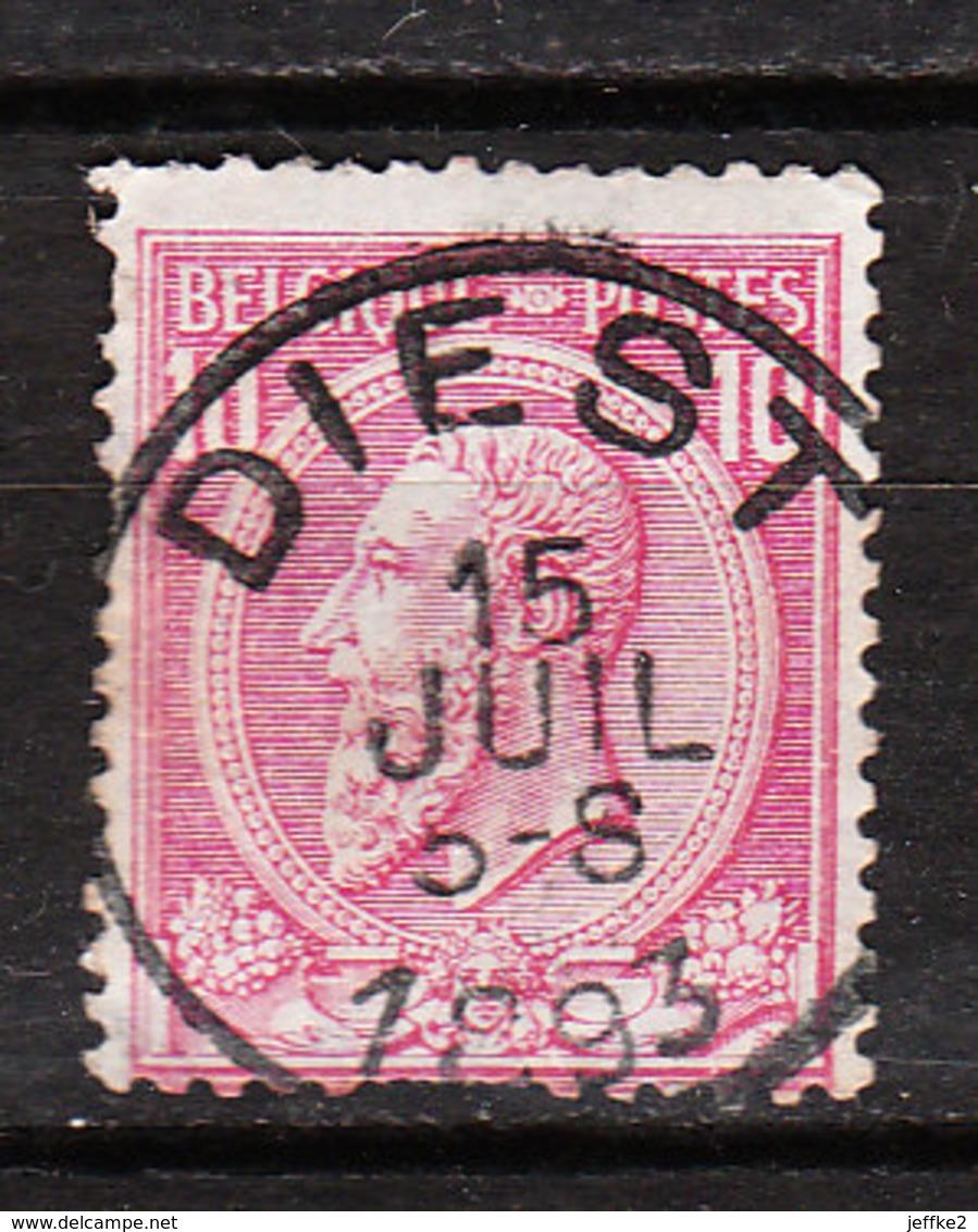 46  Oblitération Centrale DIEST - LOOK!!!! - 1884-1891 Leopold II